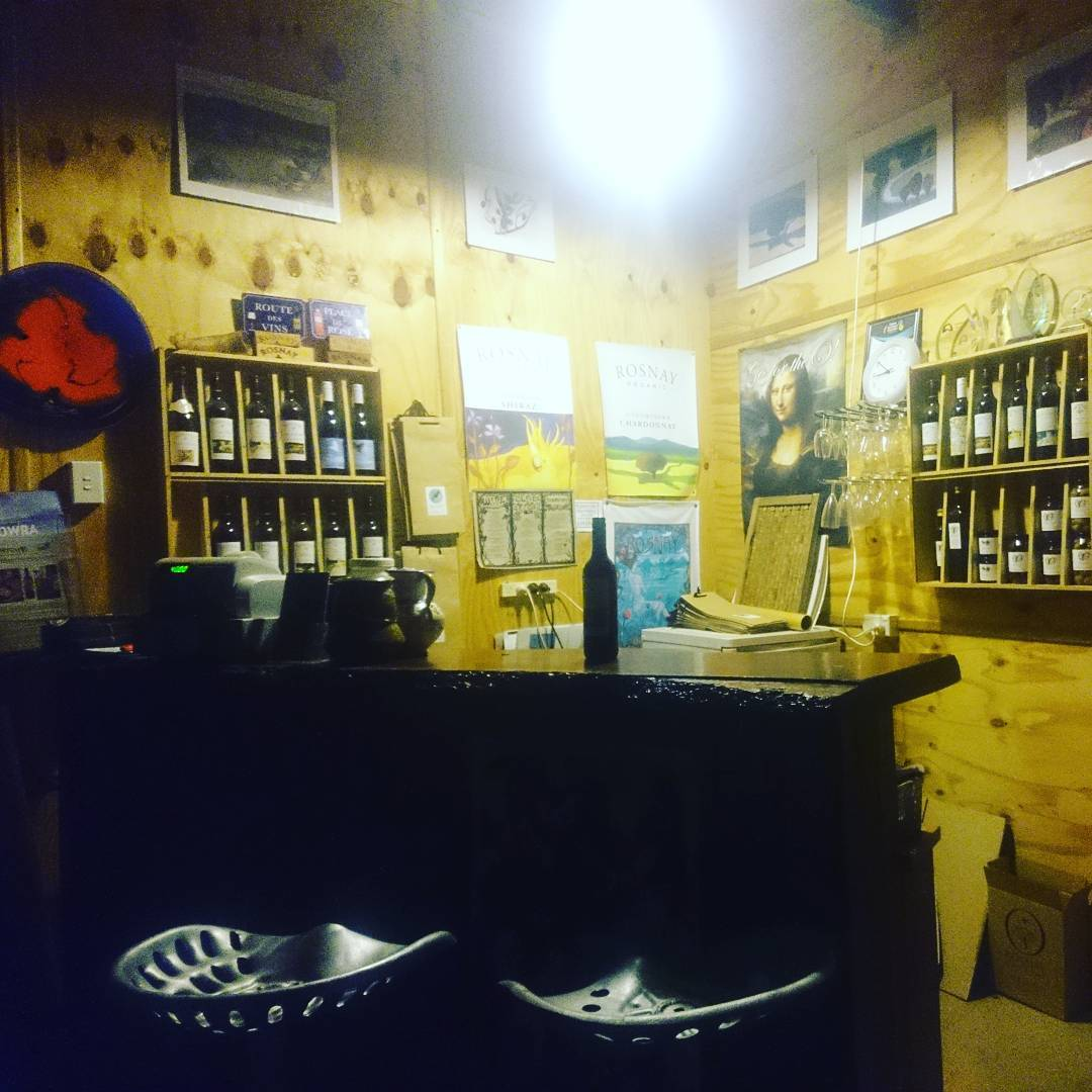 Rosnay Cellar Door will be open for your organic winehellip