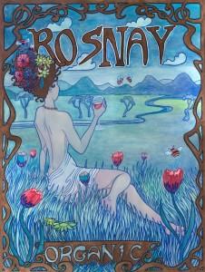 Rosnay Art Deco Banner