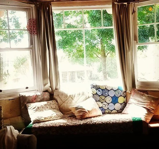 Recycled bay windows such a lovely spot to sit inhellip