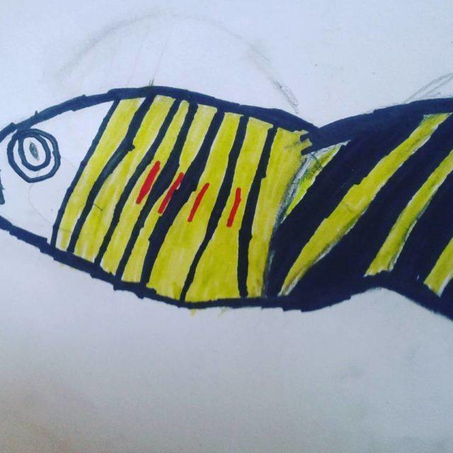 Fish by Samuel kidsart