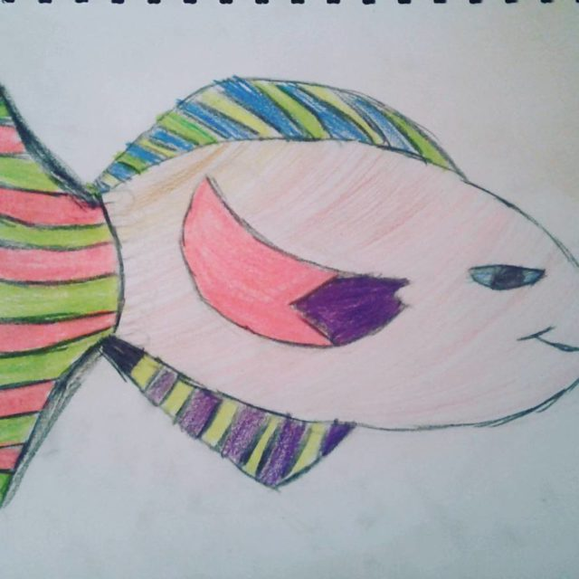 Fish by Georgie kidsart