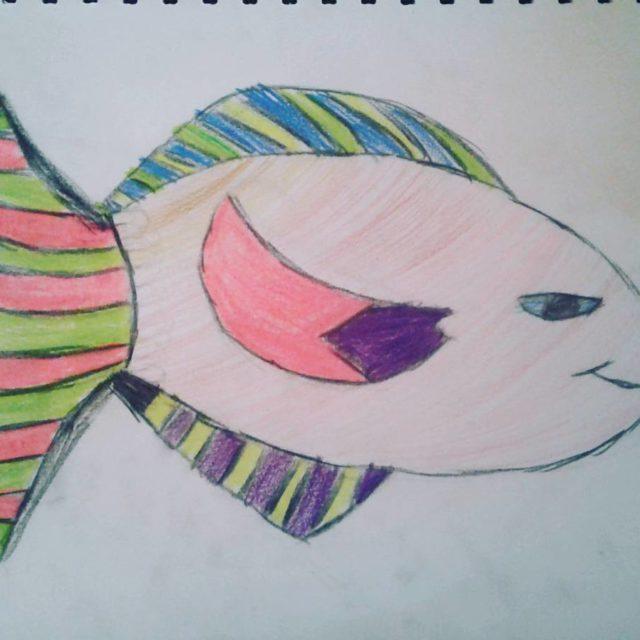 Fish by Georgie kidsart